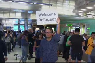 Restrictiile cu privire la intrarea in SUA a imigrantilor au intrat in vigoare. Ce s-a intamplat in aeroporturi