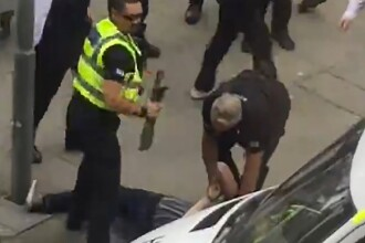 Un barbat a fost arestat dupa ce a incercat sa intre cu o maceta la concertul lui Justin Bieber.