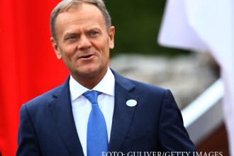 """BBC: Donald Tusk propune o amânare """"flexibilă"""" de 12 luni a Brexitului"""