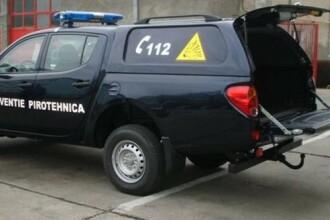 Mașina MAI care transporta o bombă, șicanată în trafic de un șofer grăbit