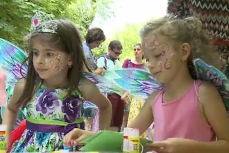 Ziua Copilului, sărbătorită cu ateliere de creație și veselie în București