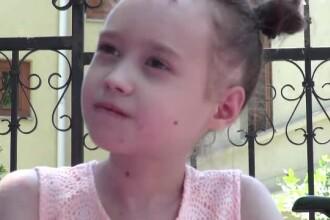 O fetiţă din Iaşi care are pielea la fel de fragilă ca aripile unui fluture. Cum au ajutat-o copiii de 1 iunie