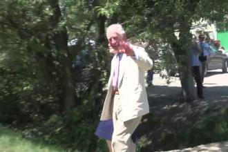 Cum și-a petrecut prințul Charles ziua la Valea Zălanului.