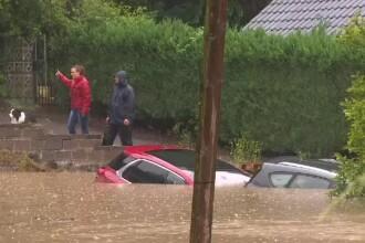 Inundaţii urmate de torente de noroi, în vestul Europei.