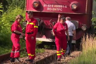 Un bărbat de 50 de ani, lovit mortal de tren, la intrarea în Bistriţa