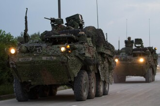 Desfăşurare de forţe militare NATO la graniţa cu Rusia. Rolul jucat de România