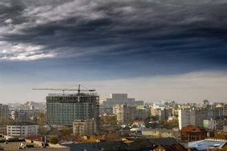 Cod Galben de furtună în Bucureşti și Cod Portocaliu în două judeţe