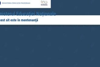 Site-ul Ministerului Educației, picat cu 3 săptămâni înainte de Bacalaureat