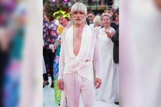Conchita Wurst a găzduit balul vienez, organizat pentru combaterea maladiei SIDA