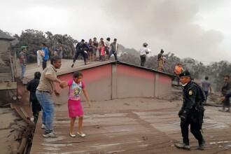Bilanţul victimelor erupţiei vulcanului Fuego din Guatemala creşte la 62 de morţi