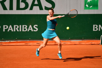 """Halep s-a calificat în sferturi la Roland Garros. Mertens: """"Este o mare jucătoare"""""""