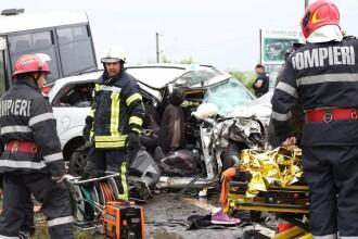 Accident rutier grav, în Harghita: 2 morți şi 13 răniţi. A fost activat Planul Roşu