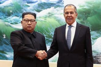 Fotografie cu Kim Jong-un, modificată de televiziunea de stat din Rusia. Cum apare liderul nord-coreean