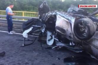 Un tânăr s-a izbit cu maşina de un parapet, în Argeș. Care au fost ultimele lui cuvinte