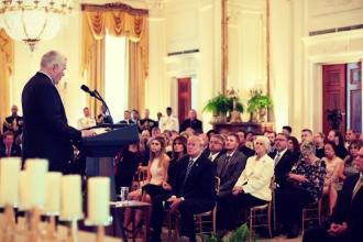 Melania Trump și-a făcut apariţia în public, după o lungă absenţă