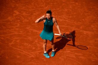 Gestul făcut de Simona Halep, imediat după ce a câștigat partida din sferturi la Roland Garros. VIDEO
