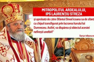 """Biserica Română vrea canonizarea lui Arsenie Boca. """"Va dispărea obiectul acestei nefirești uneltiri!"""
