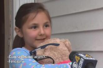 Mobilizare internaţională pentru o fetiţă care şi-a pierdut ursuleţul de pluş
