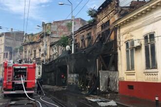 Incendiu în Capitală, la o clădire de pe Calea Moşilor. Ce s-a găsit înăuntru