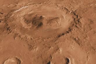 Craterul de pe Marte în care NASA speră să găsească semne de viaţă