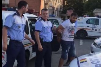 Un bărbat urmărit de poliţişti în Capitală s-a aruncat în râul Dâmboviţa