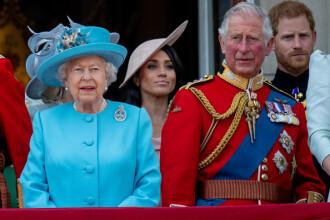 Prima apariție a lui Meghan Markle la balconul regal. Ziua Reginei, sărbătorită cu o paradă