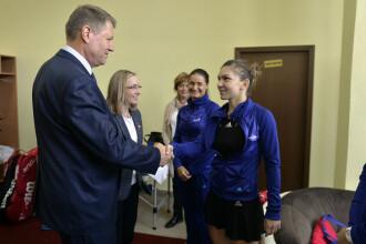 Președintele Klaus Iohannis a felicitat-o pe Simona Halep după victoria obținută la Roland Garros