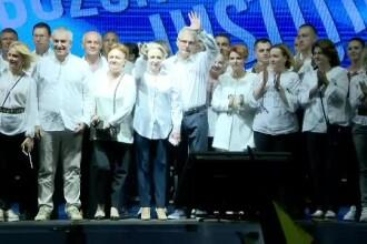 """Mitingul PSD, filmul evenimentelor. Atacurile liderilor social-democrați la adresa """"statului paralel"""""""