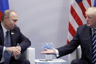 Ce spune Vladimir Putin despre o posibilă întâlnire cu Donald Trump