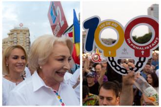 Cele două Românii. GALERIE FOTO cu protestele din weekend: PSD contra #rezist