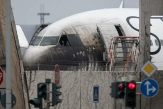 10 răniți, pe aeroportul din Frankfurt, după un incendiu puternic