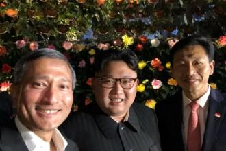Cine sunt primii oameni care şi-au făcut selfie-uri cu Kim Jong-Un