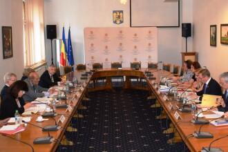 Augustin Lazăr s-a întâlnit cu delegaţia Comisiei de la Veneţia