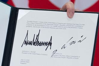 Summit Trump-Kim. Angajamentele luate de cele două state în urma întâlnirii istorice