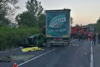 O persoană a murit în urma unui accident produs pe DN 71, în Dâmbovița