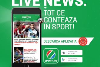 iLikeIT. Descarcă gratuit noua aplicație Sport.ro, ca să fii la curent cu meciurile CM 2018 din Rusia