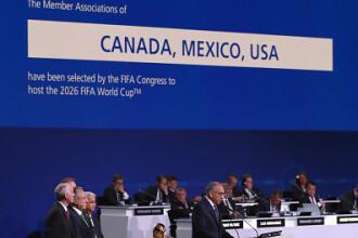 SUA, Canada şi Mexic au câştigat organizarea Cupei Mondiale din 2026