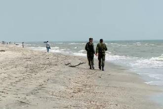 Trupurile băiatului de 14 ani înecat la Corbu şi militarului din Cluj, găsite pe plajă