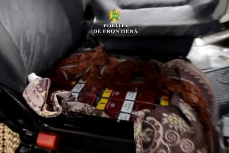 Doi soţi arestaţi pentru contrabandă cu țigări. Unde au ascuns pachetele de tutun