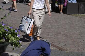 Un oraş din Suedia introduce permise de cerşetorie din cauza românilor şi bulgarilor