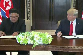 Donald Trump, taxat pentru complimentele făcute lui Kim Jong-un