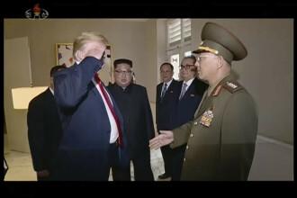 Donald Trump, criticat după ce a salutat un general nord-coreean. VIDEO