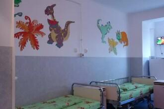 Două asociații din Cluj au renovat un etaj al Secției de Pediatrie din oraș, din donații