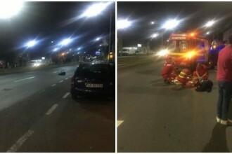 Bărbat din Arad, izbit violent de o mașină pe trecere și proiectat la 30 de metri
