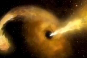 Momentul în care o gaură neagră a înghițit o stea, observat pentru prima dată de cercetători. VIDEO