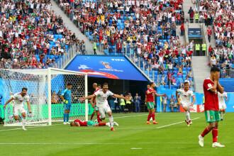 Cupa Mondială 2018. Maroc Iran 0 - 1, după un autogol în minutul 95