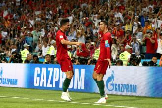 Portugalia - Spania 3 - 3. Ronaldo a reușit o