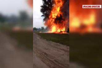 Rulotă, distrusă în urma unei explozii, în Mamaia. Ce a provocat deflagrația