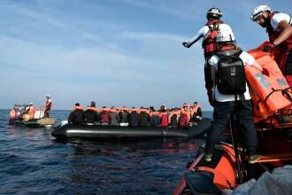 Migranţii salvați din Mediterana de nava Aquarius au sosit la Valencia