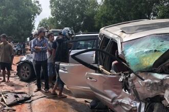Prinţ din Cambodgia, implicat într-un accident grav. Soţia sa e la un pas de moarte